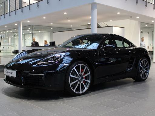 Exklusives Leasingangebot: Discover Porsche Leasing 718 Cayman S.