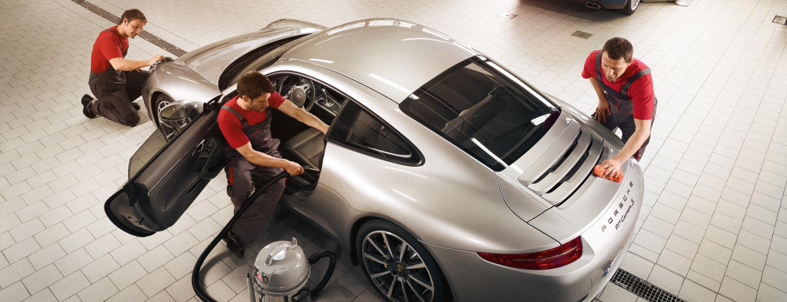 Porsche-Fahrzeugpflege-Zentrum