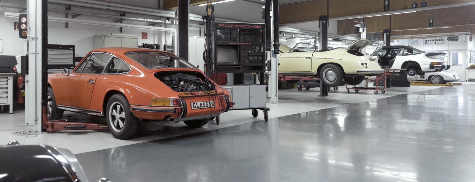 Youngtimer-Betreuung von Sportwagen (8 Zylinder)